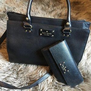 Kate Spade Satchel + wallet